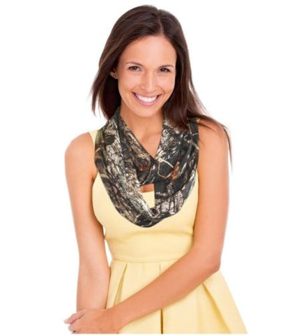 Mossy Oak Camo Infinity Scarf (Mossy Oak® New Break-Up®)