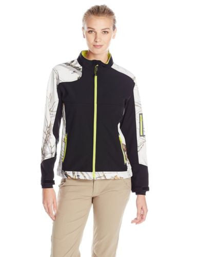 Yukon Gear Women's Windproof Softshell Fleece Jacket Juniors XL