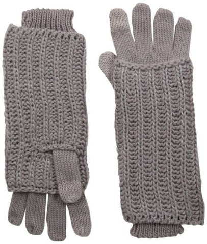Muk Luks Women's Hollywood Ribbed Gloves