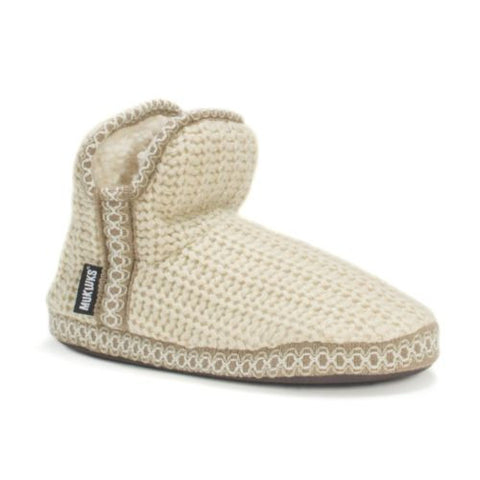 Muk Luks Women's Amira Bootie Slipper, Easy On,  Size  X-Large 9-10( M) US