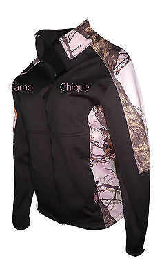 Mossy Oak Pink Jacket Womens Softshell Windproof Coat
