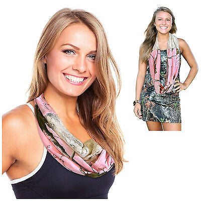 Realtree Pink Infinity Scarf