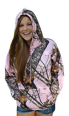 Pink Camo Hoodie Mossy Oak Break Up Pnk Performance Fleece Hooded Sweatshirt Top