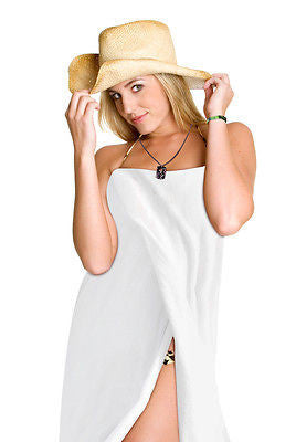 Plus Size Swimsuit Cover Up Spa Bath Wrap S-6X
