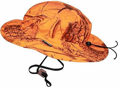 d0c33433ab54c Blaze Orange Boonie Gore-Tex Realtree Hardwoods Blaze Waterproof Boonie  Bush Hat