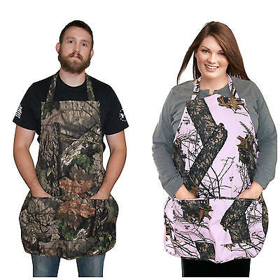 Mossy Oak Camo Apron Break Up Pink Country Duck Blind Realtree Max-4 Max4 Apron