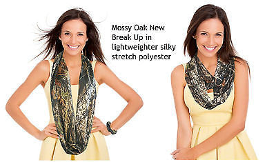 Camo Infinity Scarf Mossy Oak Realtree Pink Circle Loop Figure 8 Eternity Scarf Officially licensed