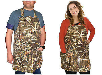 Realtree Max-4 Apron Adult Advantage Camo Apron OSFM S-2XL Men Women Made in USA