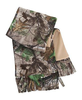 Realtree Fleece Scarf AP Camo Unisex Adult Men Women 4 Winter Coat Jacket Scarf