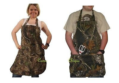 Realtree Camo Apron ADULT Unisex Mens Womens APG Cotton Twill OSFM One Size S-2X