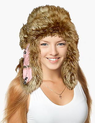 Mad Bomber Realtree Snow Trapper Hat, Faux Fur