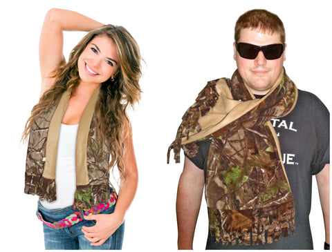 Realtree Fleece Scarf $19.99 & free shipping!Winter Coat Outdoor Style Realtree AP Camo Neck Wrap