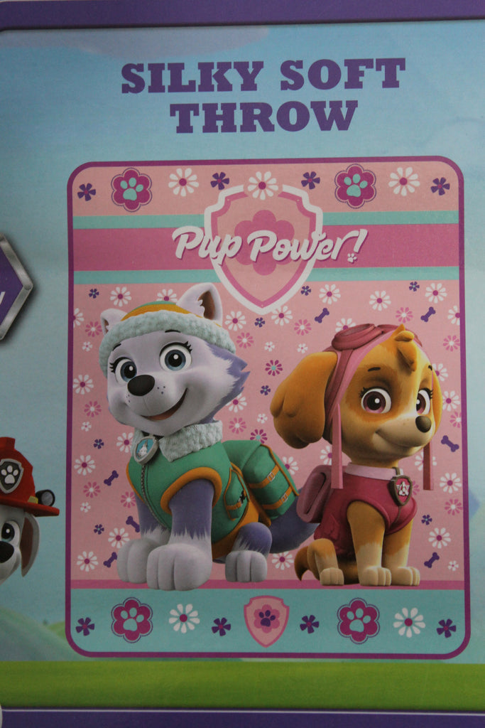 Paw Patrol Fleece Throw Blanket~Skye & Everest~Nick Jr~Toddler Girls ...