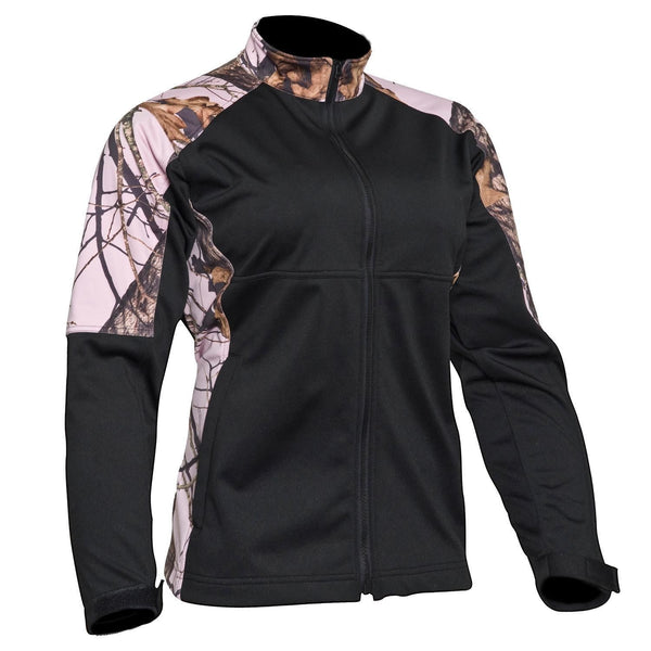 Mossy Oak Pink Camo Jacket Womens Fleece Windproof Coat Free US Shipping