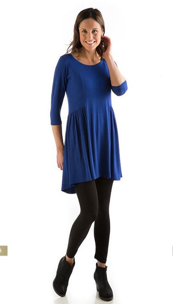 Yala BambooDreams Tunic Reese Dress BambooDreams Royal Blue XL