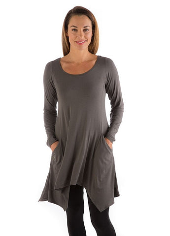 BambooDreams MILA Tunic Top Yala Dreamsack Organic Clothing XL Fits Most XXL 1X Womens Plus Sz