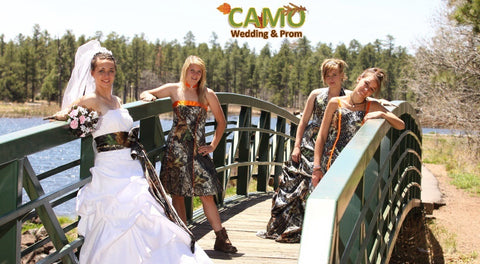 Mossy Oak Camo Wedding Veil, Women's 2 Tier White Sparkle Tulle Bridal Veil, One Size