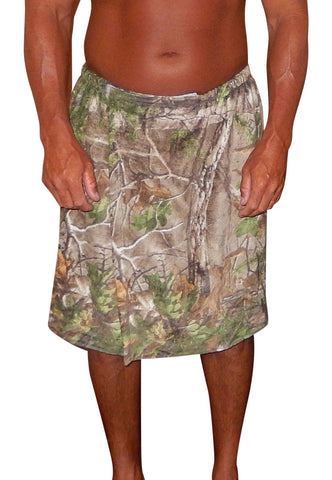 Mens Realtree Spa Wrap: Terry Beach Towel Hot Tub Bath Wrap