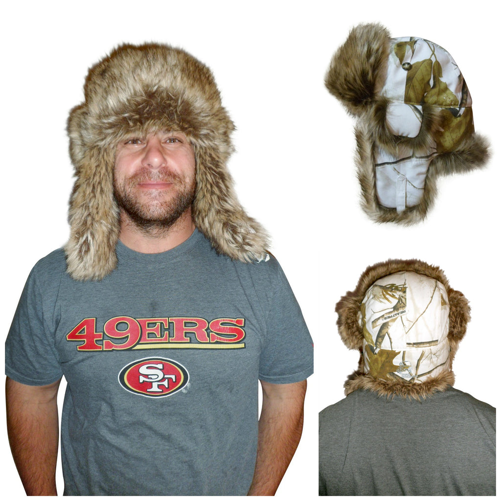 0afe49f1dbb Realtree Mad Bomber Faux Fur Trapper Hat Pink or Snow – Camo Chique