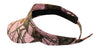 Mossy Oak Pink Visor Cap w/Wicking Band (Break Up Pink)