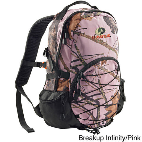 Mossy Oak Pink Backpack Tote Bag Single Daypack Camo Back Pack