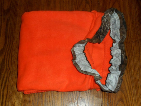 Realtree Fleece Throw Blanket Ruffle Light Made in USA