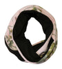Realtree Pink Camo Scarf Fleece Infinity Loop Scarf For Outdoor Jacket Coat Scarf Free Shipping