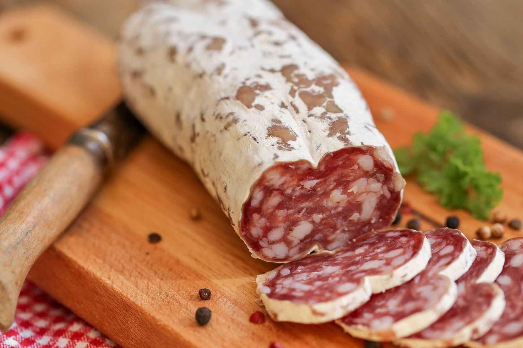 saucisson sec artisanal pur porc de 250g marguerite a paris. Black Bedroom Furniture Sets. Home Design Ideas