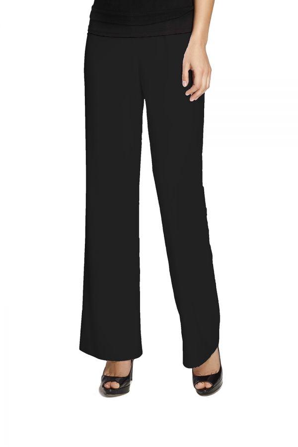 Wide Leg Occasion Pant Silky Knit 038