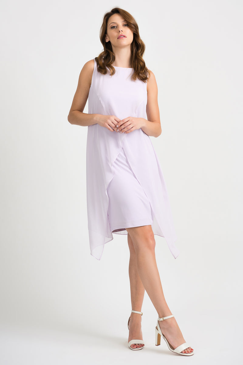 Lilac Overlay Dress 201220 - After Hours Boutique