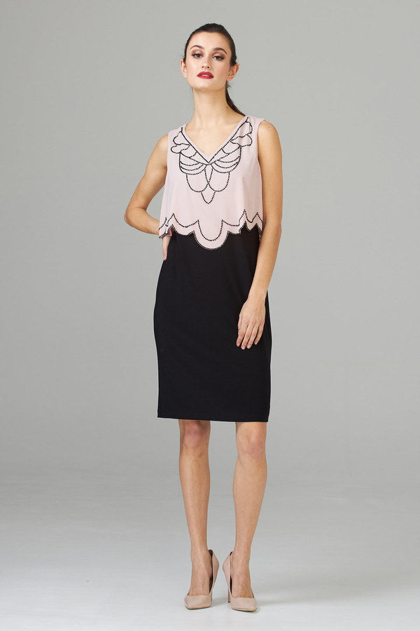 Rose/Noir Dress 201361