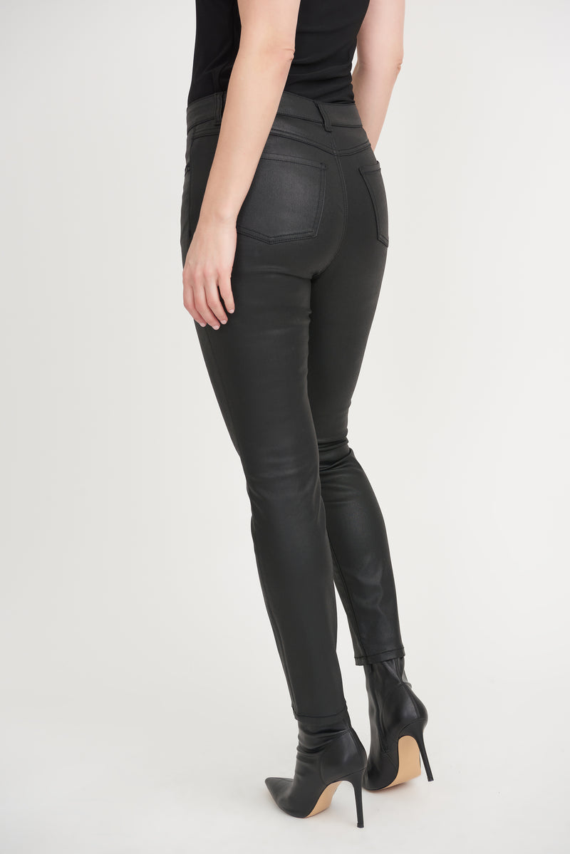 Black Jean Straight Fit 203073