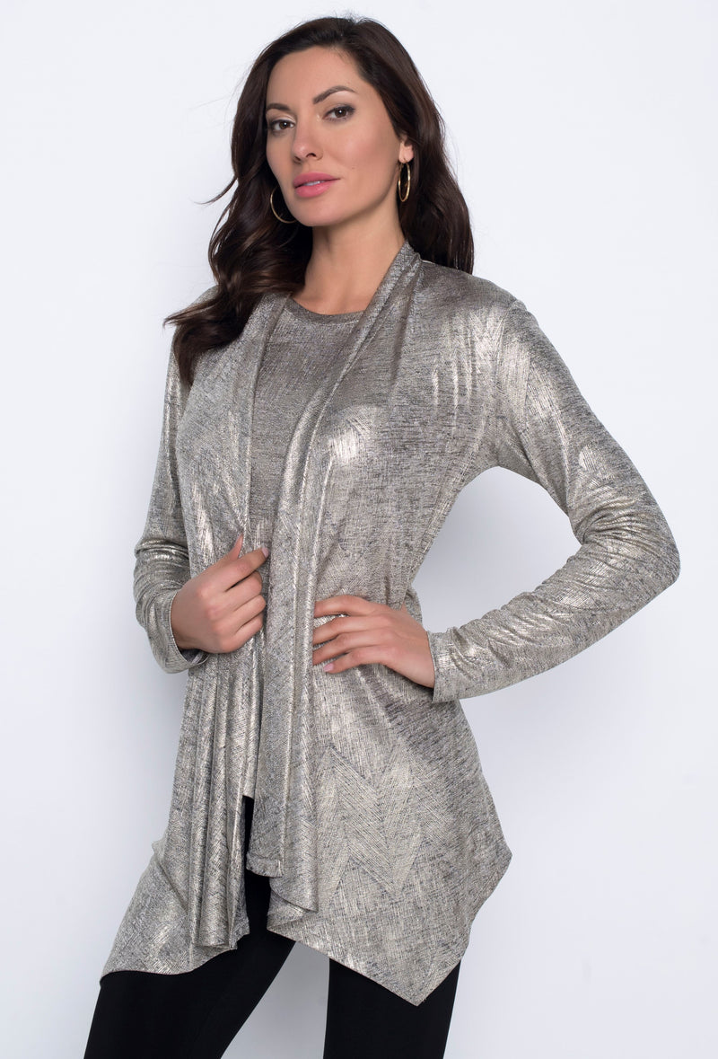 Gold Knit Cover Up 203302