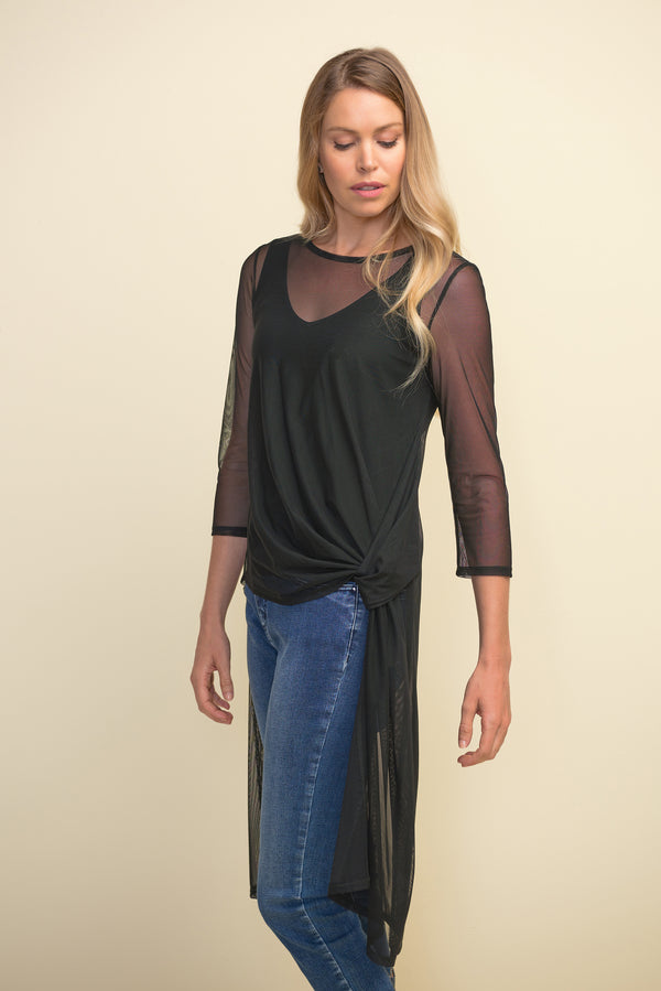 Mesh High-Low Tunic 211420