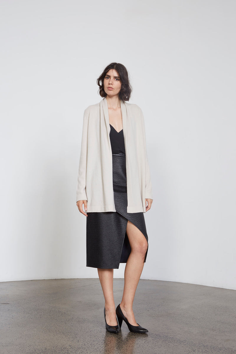 Shawl Collar Cardigan  S1005 - After Hours Boutique