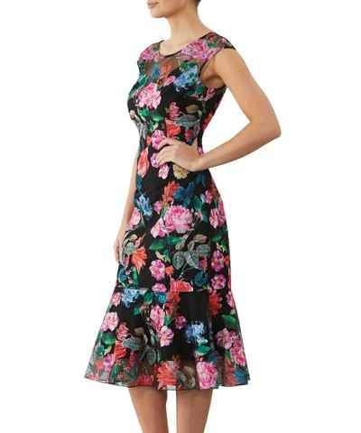 Garland Embroidered Dress UD10516 - After Hours Boutique