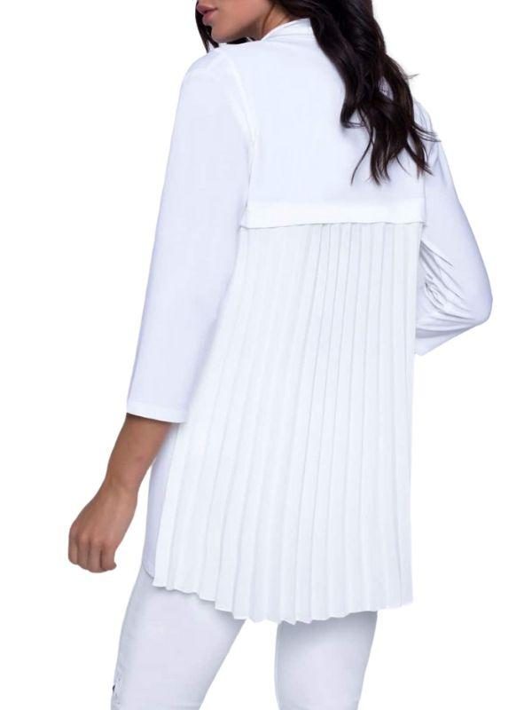 Pleated Cover-Up 201037X - After Hours Boutique