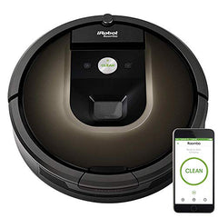 iRobot Roomba 980 Robot Vacuum with Wi-Fi Connectivity + 1 Extra Dual Mode Virtual Wall Included