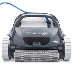 "Maytronics Dolphin Quantum 22"" Automatic Robotic Pool Cleaner w/  Filter Basket"