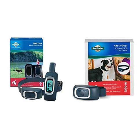 PetSafe 900 Yard Standard Remote Trainer, 2 Dog System