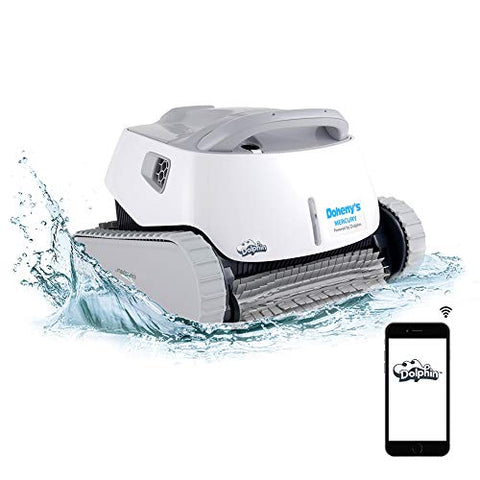 Maytronics DOLPHIN Mercury In Ground Automatic Robotic Pool Cleaner with WiFi Control