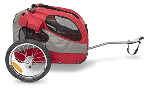 PetSafe Happy Ride Aluminium Dog Bicycle Trailer, 11.45701 kg