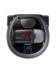 Samsung Electronics R7065 Robot Vacuum Wi-Fi Connectivity, Ideal for Carpets, Hard Floors, and Pet Hair with 5160Pa Strong Performance, Works with Amazon Alexa and the Google Assistant, Satin titanium