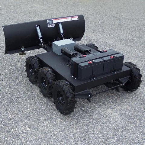 Robot Snow Plows - 6WD Remote Control Snow Plow Robot