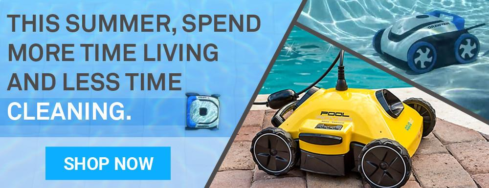 robot pool cleaners