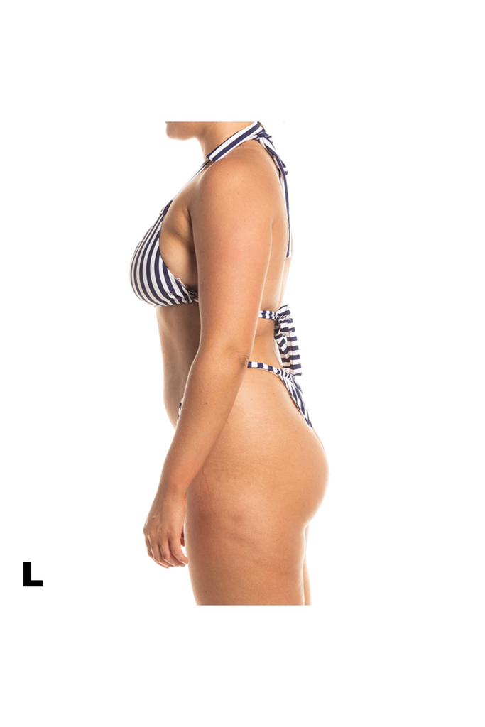 Florence Bottoms - Blue/White Stripe