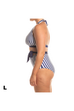 Riva Top - Blue/White Stripe