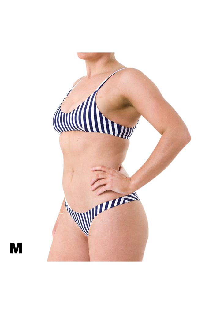 Muse Top - Blue/White Stripe