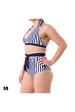 Paris Bottoms - Blue/White Stripe