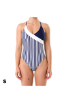 Luna One Piece - Blue/White Stripe